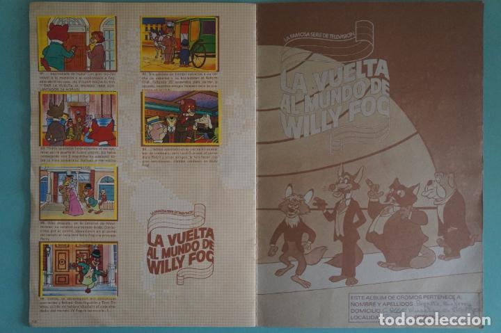 Coleccionismo Álbum: ÁLBUM COMPLETO DE LA VUELTA AL MUNDO DE WILLY FOG AÑO 1983 DE DANONE - Foto 10 - 132451226