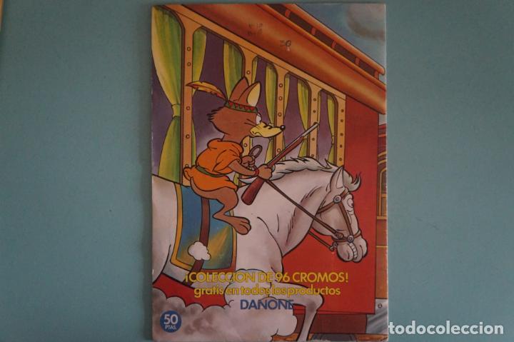 Coleccionismo Álbum: ÁLBUM COMPLETO DE LA VUELTA AL MUNDO DE WILLY FOG AÑO 1983 DE DANONE - Foto 11 - 132451226