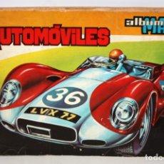 Coleccionismo Álbum: ALBUM DE CROMOS AUTOMOVILES. EDITORIAL MAGA. COMPLETO. Lote 132628662