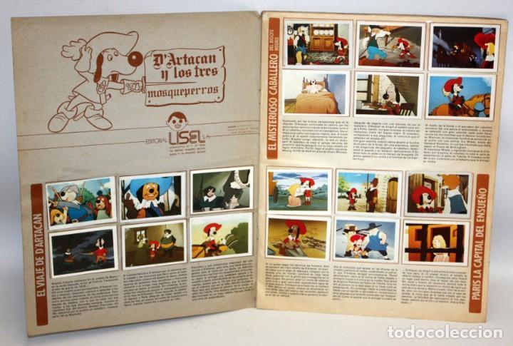 Coleccionismo Álbum: ALBUM DARTACAN Y LOS TRES MOSQUETEROS. AÑO 1981. EDITORIAL LISEL S.A.COMPLETO. - Foto 2 - 132630202