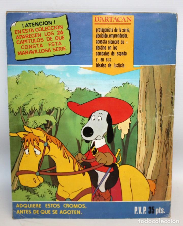 Coleccionismo Álbum: ALBUM DARTACAN Y LOS TRES MOSQUETEROS. AÑO 1981. EDITORIAL LISEL S.A.COMPLETO. - Foto 6 - 132630202