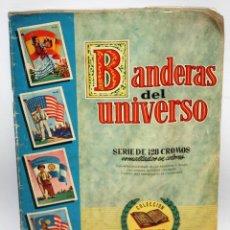 Coleccionismo Álbum: ALBUM BANDERAS DEL UNIVERSO (COMPLETO),EDITORIAL BRUGUERA.. Lote 132631414