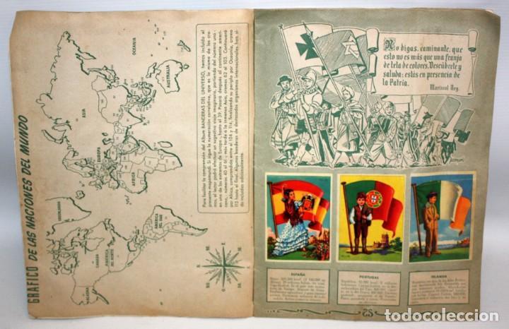 Coleccionismo Álbum: ALBUM BANDERAS DEL UNIVERSO (COMPLETO),EDITORIAL BRUGUERA. - Foto 4 - 132631414