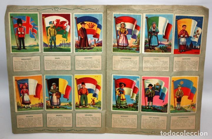 Coleccionismo Álbum: ALBUM BANDERAS DEL UNIVERSO (COMPLETO),EDITORIAL BRUGUERA. - Foto 5 - 132631414