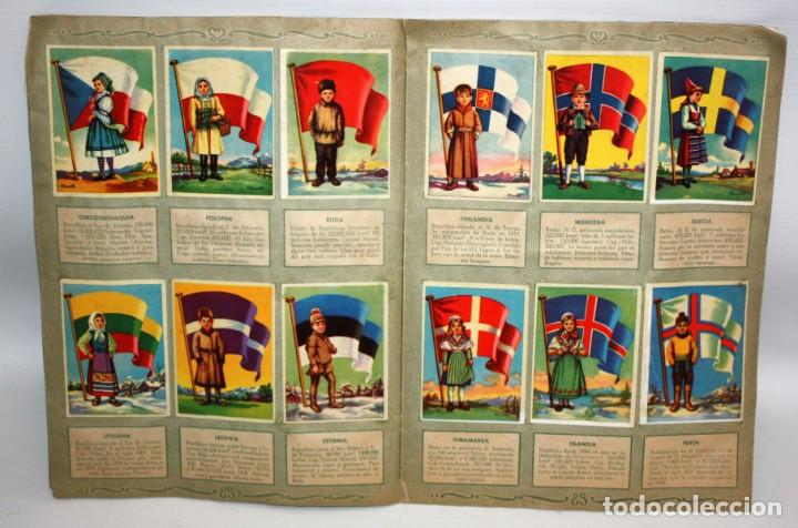 Coleccionismo Álbum: ALBUM BANDERAS DEL UNIVERSO (COMPLETO),EDITORIAL BRUGUERA. - Foto 6 - 132631414