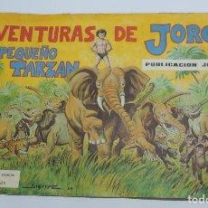 Coleccionismo Álbum: ALBUM DE CROMOS AVENTURAS DE JORGE EL PEQUEÑO TARZAN, EDITORIAL COSTA COMPLETO CON SUS 108 CROMOS, E. Lote 132640578