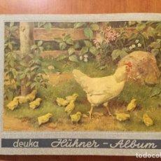 Coleccionismo Álbum: FANTASTICO ALBUM DE CROMOS ALEMAN SOBRE POLLOS (HÜHNER-ALBUM). 1953. . Lote 132709562