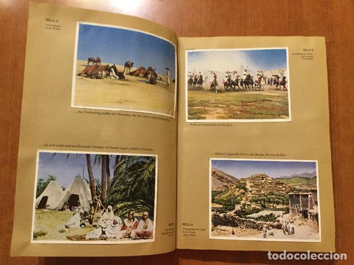 Coleccionismo Álbum: ALBUM ALEMAN COMPLETO MIT REICHELT UM DIE WELT. PRECIOSO ALBUM CON FOTOS DE AFRICA Y AUSTRALIA. - Foto 2 - 132709686