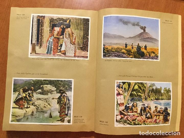 Coleccionismo Álbum: ALBUM ALEMAN COMPLETO MIT REICHELT UM DIE WELT. PRECIOSO ALBUM CON FOTOS DE AFRICA Y AUSTRALIA. - Foto 3 - 132709686