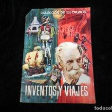 Coleccionismo Álbum: ALBÚM DE CROMOS INVENTOS Y VIAJES COMPLETO DE FERMA. Lote 132712394