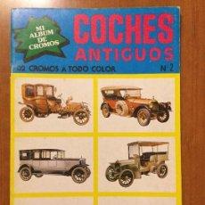 Coleccionismo Álbum: ALBUM COCHES ANTIGUOS AÑO 1979 COMPLETO SIN PEGAR . Lote 132729174