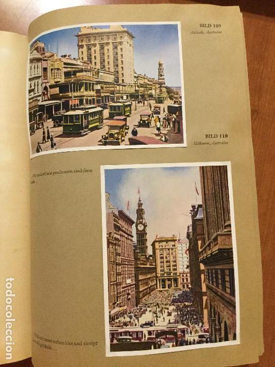 Coleccionismo Álbum: ALBUM ALEMAN COMPLETO MIT REICHELT UM DIE WELT. PRECIOSO ALBUM CON FOTOS DE AFRICA Y AUSTRALIA. - Foto 4 - 132709686