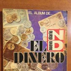 Coleccionismo Álbum: EL ALBUM DE EL DINERO. NUEVO DIARIO. EDICIONES JOKER.. Lote 132730794