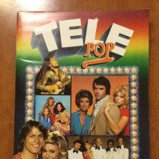 Coleccionismo Álbum: ALBUM DE CROMOS TELE POP COMPLETO.. Lote 132731318