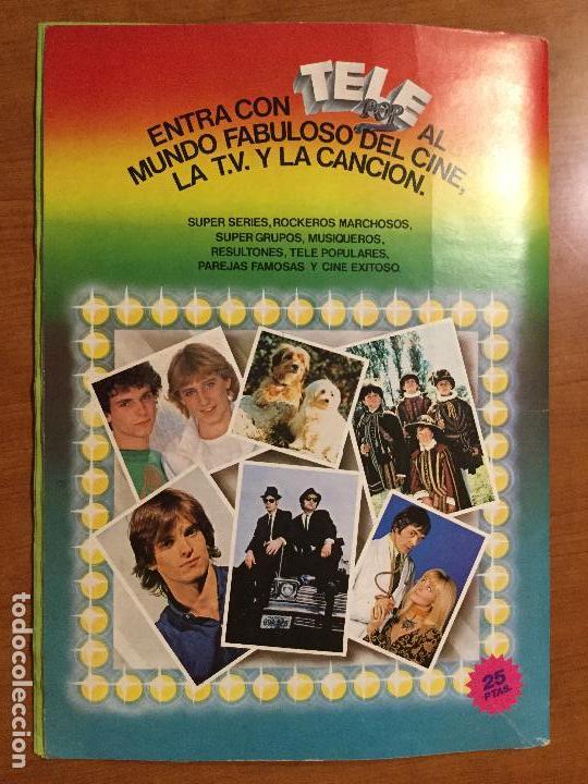 Coleccionismo Álbum: ALBUM DE CROMOS TELE POP COMPLETO. - Foto 3 - 132731318