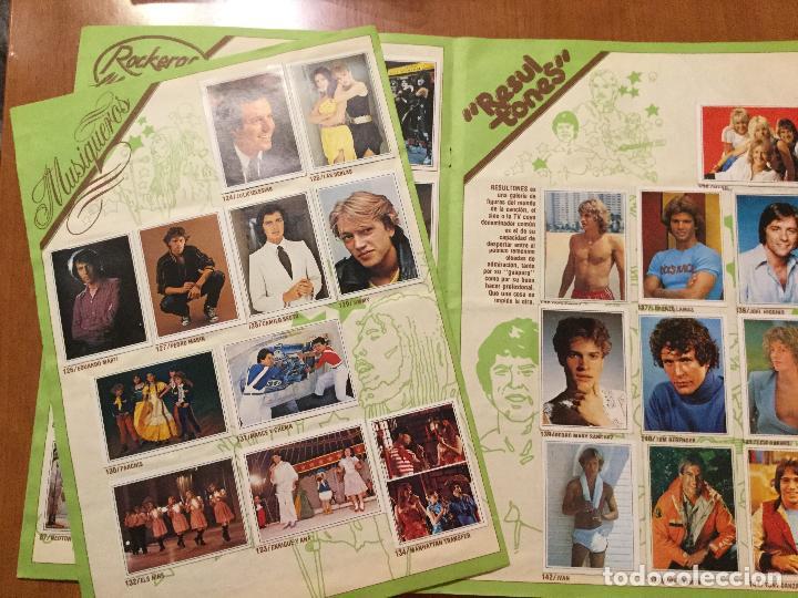 Coleccionismo Álbum: ALBUM DE CROMOS TELE POP COMPLETO. - Foto 4 - 132731318