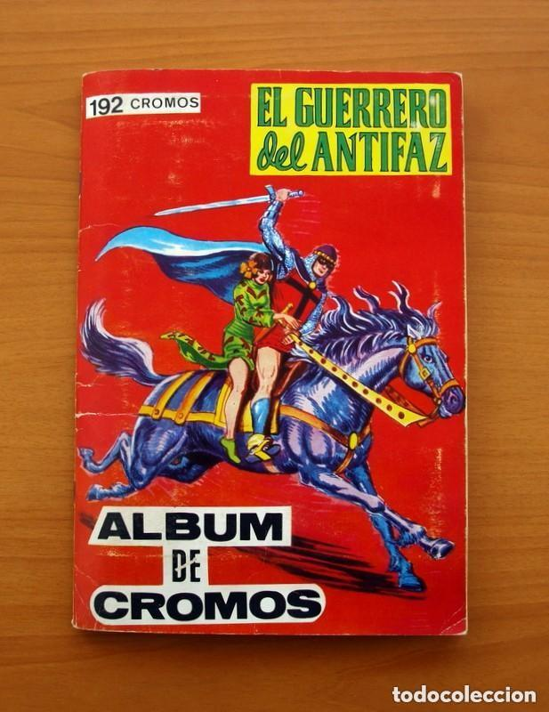 ÁLBUM EL GUERRERO DEL ANTIFAZ - EDITORIAL MAGA 1979 - COMPLETO - VER FOTOS INTERIORES (Coleccionismo - Cromos y Álbumes - Álbumes Completos)