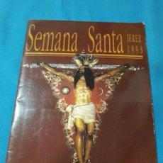 Coleccionismo Álbum: ALBUM SEMANA SANTA JEREZ 1993 COMPLETO. Lote 132799718