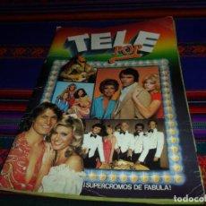 Coleccionismo Álbum: TELE POP SEGUNDA VERSIÓN COMPLETO 240 CROMOS. ESTE 1980.. Lote 132864254