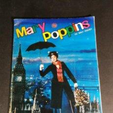 Coleccionismo Álbum: ORIGINAL ALBUM COMPLETO A FALTA DE 10 CROMOS - MARY POPPINS DE WALT DISNEY. Lote 132892086