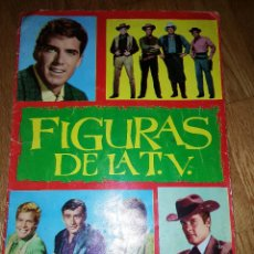 Coleccionismo Álbum: FIGURAS DE LA TV COMPLETO 180 CROMOS. EDICIONES ESTE 1965. RARO.. Lote 132981178