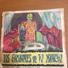 Coleccionismo Álbum: LOS TAMBORES DE FUMANCHU COMPLETO SE PUEDE LLEGAR A VENDER SUELTOS. Lote 133193294
