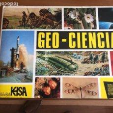 Coleccionismo Álbum: GEO-CIENCIAS COMPLETO E EIMPECABLE. Lote 133193782
