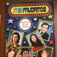 Coleccionismo Álbum: MIS FAVORITOS COMPLETO BUEN ESTADO. Lote 133193942