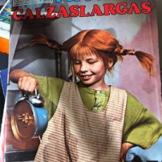 Coleccionismo Álbum: PIPPI CALZASLARGAS COMPLETO E IMPECABLE. Lote 133194150