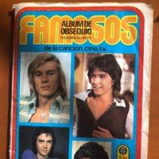 Coleccionismo Álbum: FAMOSOS COMPLETO BUEN ESTADO. Lote 133200746