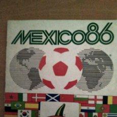 Coleccionismo Álbum: ÁLBUM MÉXICO 86 COMPLETO PANINI. Lote 133216995