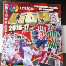 Coleccionismo Álbum: ÁLBUM CROMOS FÚTBOL LIGA EDICIONES ESTE 2016 2017 16 17. Lote 133376018