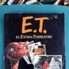 Coleccionismo Álbum: ÁLBUM COMPLETO DE E. T . Lote 133401586