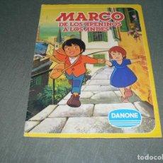 Coleccionismo Álbum: MARCO DE LOS APENINOS A LOS ANDES. Lote 133654794