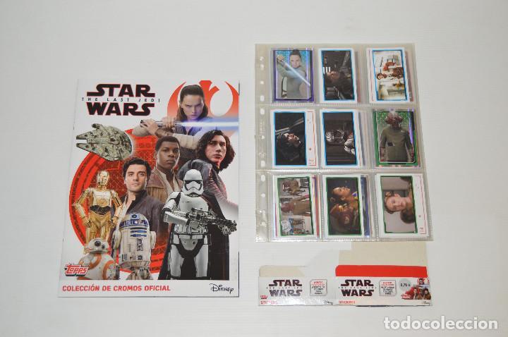 Topps-sticker 42-Star Wars-los últimos Jedi