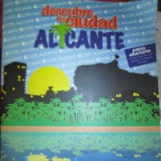 Coleccionismo Álbum: ALICANTE RARO ALUM DE 114 CROMOS COMPLETO DESCUBRE TU CIUDAD ALICANTE JUEGO GRATUITO IMPECABLE. Lote 133713642