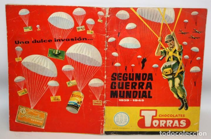 Coleccionismo Álbum: ALBUM SEGUNDA GUERRA MUNDIAL (1939-1945) CHOCOLATES TORRAS.1958. - Foto 2 - 134055226