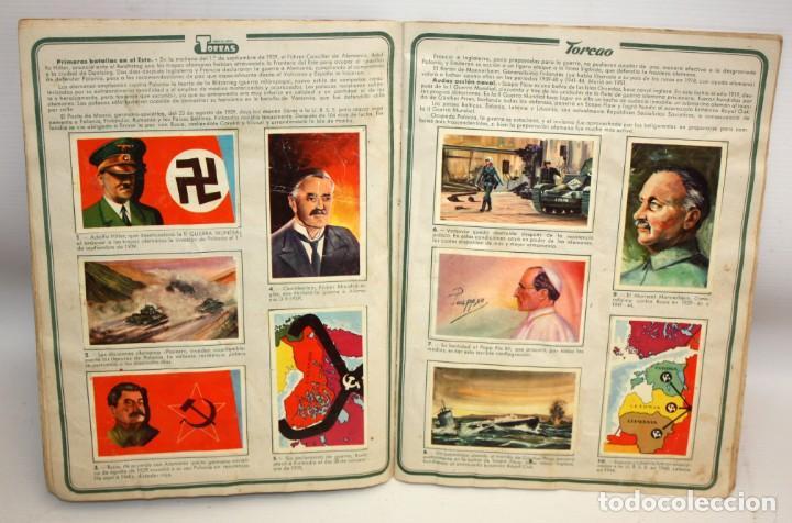Coleccionismo Álbum: ALBUM SEGUNDA GUERRA MUNDIAL (1939-1945) CHOCOLATES TORRAS.1958. - Foto 6 - 134055226