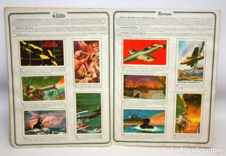 Coleccionismo Álbum: ALBUM SEGUNDA GUERRA MUNDIAL (1939-1945) CHOCOLATES TORRAS.1958. - Foto 8 - 134055226