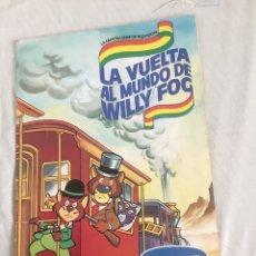 Coleccionismo Álbum: ÁLBUM COMPLETO DE LA VUELTA AL MUNDO DE. WILLY FOG. Lote 153803869