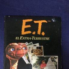 Coleccionismo Álbum: E.T. EL EXTRATERRESTRE ALBUM DE CROMOS COMPLETO 1982 BUEN ESTADO EDICIONES ESTE STEVEN SPIELBERG. Lote 134256546