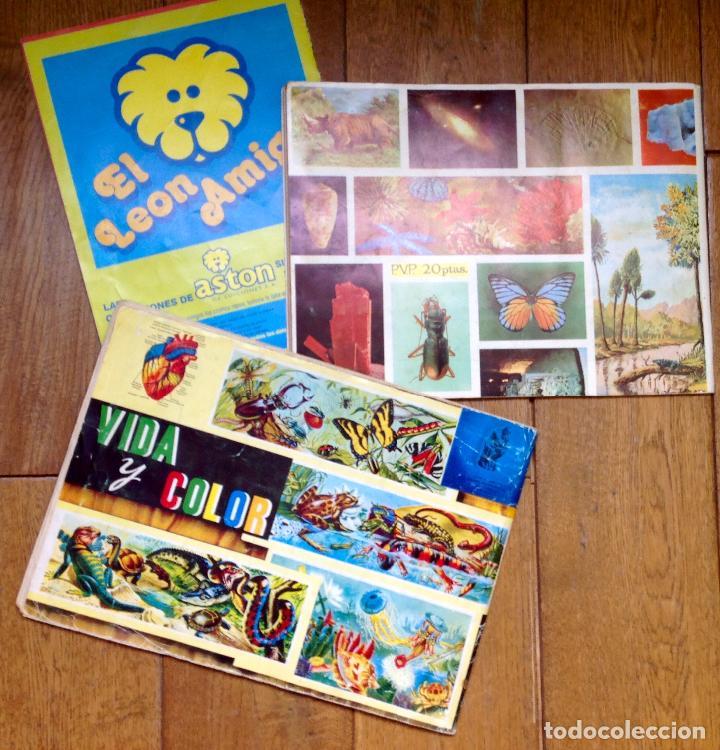 Coleccionismo Álbum: LOTE DE 3 ALBUMES CROMOS ANTIGUOS , GEO CIENCIAS AÑOS 60 , BATMAN Y VIDA Y COLOR - Foto 2 - 134330858