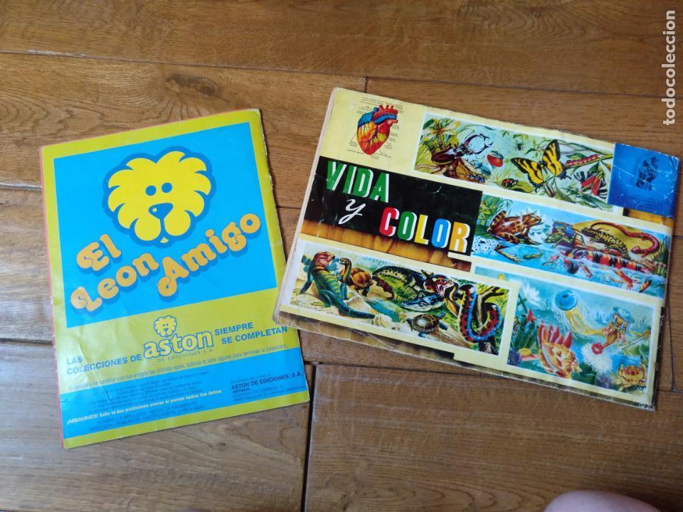 Coleccionismo Álbum: LOTE DE 3 ALBUMES CROMOS ANTIGUOS , GEO CIENCIAS AÑOS 60 , BATMAN Y VIDA Y COLOR - Foto 16 - 134330858