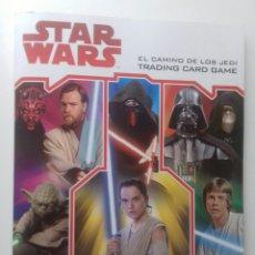 Coleccionismo Álbum: ALBUM COMPLETO STAR WARS. Lote 134382150