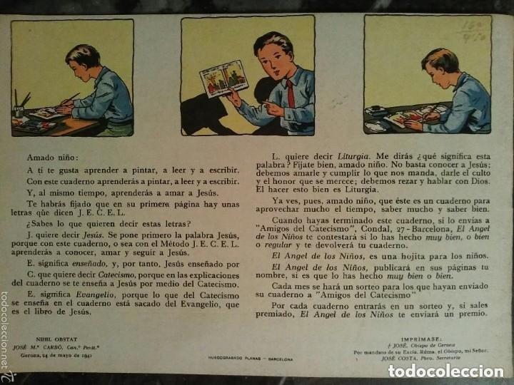 Coleccionismo Álbum: CUADERNO PARA PINTAR, JESUS GLORIOSO - Foto 4 - 134719470