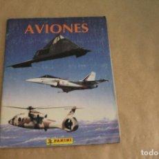 Coleccionismo Álbum: AVIONES, ALBUM DE CROMOS COMPLETO, EDITORIAL PANINI. Lote 134895358