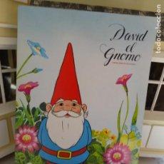 Coleccionismo Álbum: ALBUM DE CROMOS DAVID EL GNOMO - DANONE. Lote 135129990