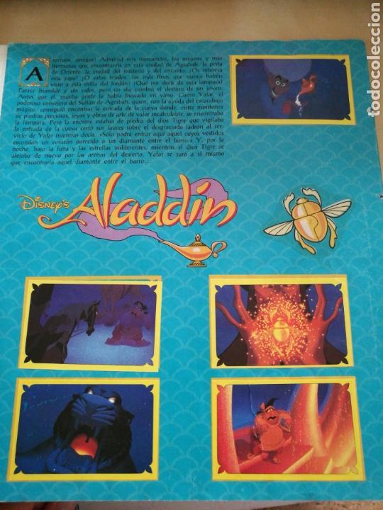 Coleccionismo Álbum: Álbum completo Aladdin, Panini - Foto 3 - 135512210