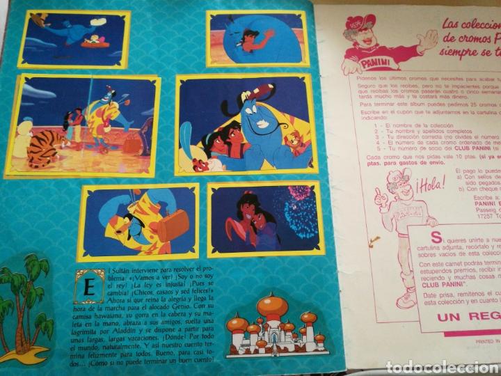 Coleccionismo Álbum: Álbum completo Aladdin, Panini - Foto 9 - 135512210