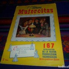 Coleccionismo Álbum: BUEN ESTADO, ÁLBUM MUJERCITAS COMPLETO 167 CROMOS. CLIPER 1952.. Lote 135654335